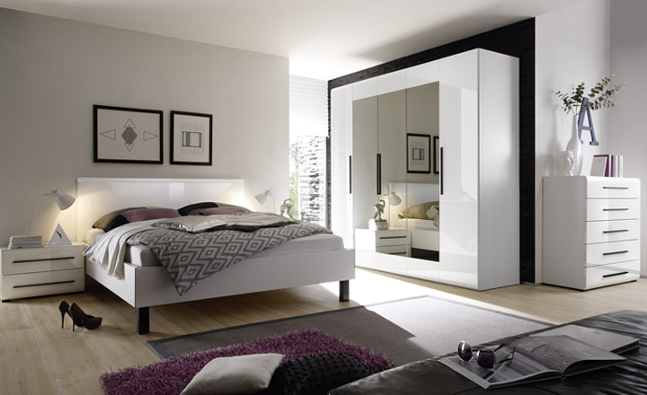 спальня Harmony белая спальня